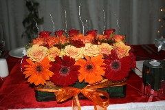 Wedding red & orange